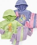 Disney Little Girls Hoodie and Pants Set Tink Coupons