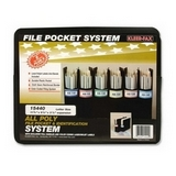 Kleer-Fax Vertical Poly File Pocket System Coupons